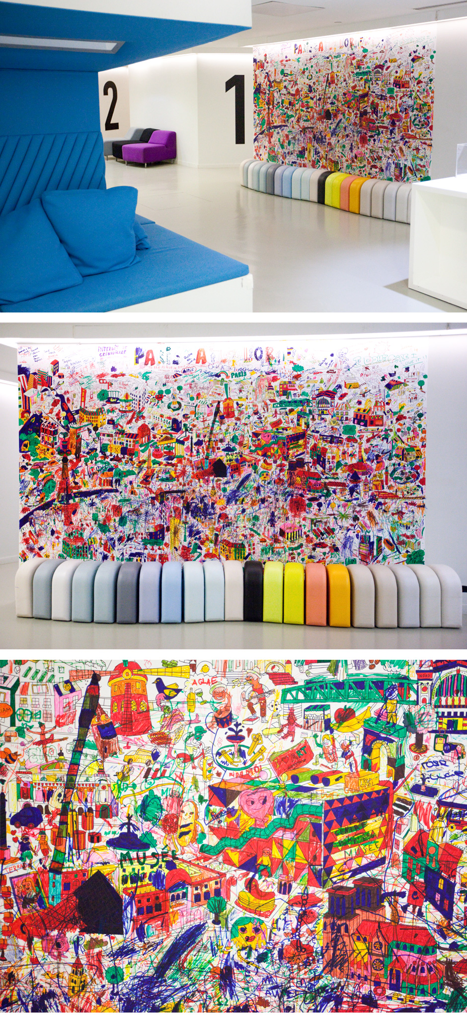 OMY Design & Play Giant Coloring Posters | LOVEITLUXE.COM